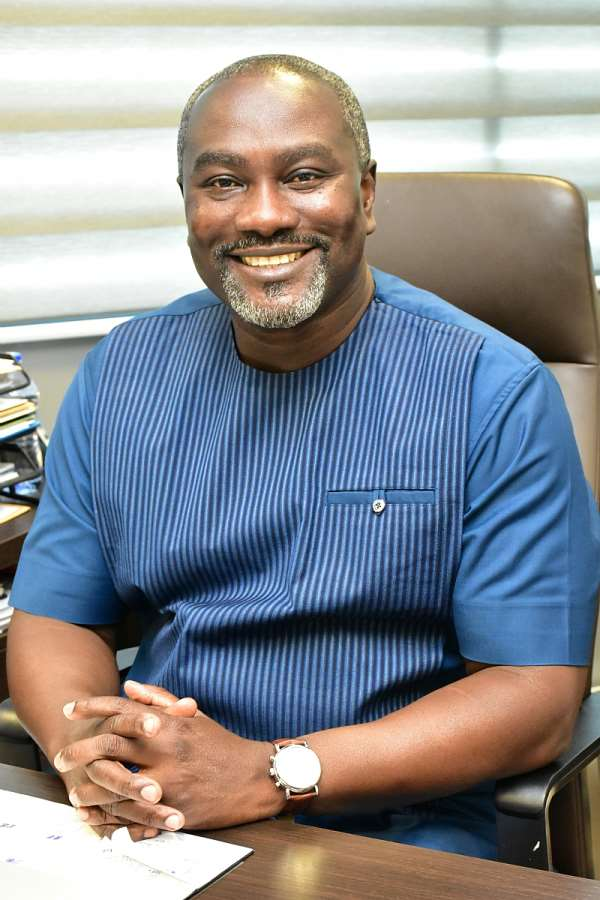Director-General, Mr. Richard Okyere-Fosu