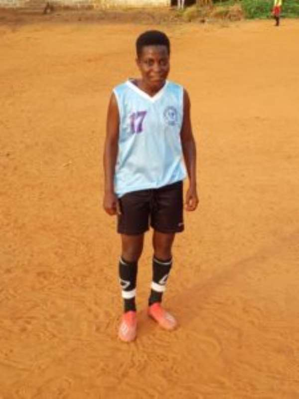 VIDEO: Meet Female Footballer Whose Parents Abandoned Her For Playing Football