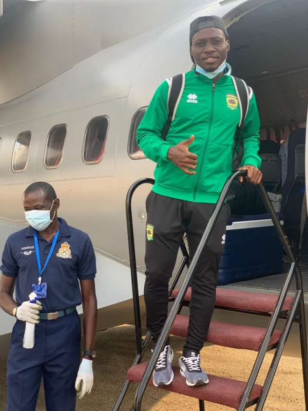 CAF Champions League: Kotoko Safely Lands In Mauritania Ahead FC Nouadhibou Meeting