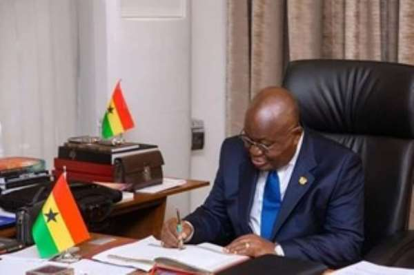 The Choice Between Light And Darkness: Buy Your Future With Nana Akufo Addo [Part1]