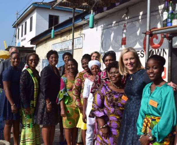 Foreign Trade And Development Cooperation Minister Of Holland Visits Ghana