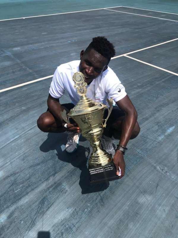 Tennis: Johnson Acquah Wins Tour 6