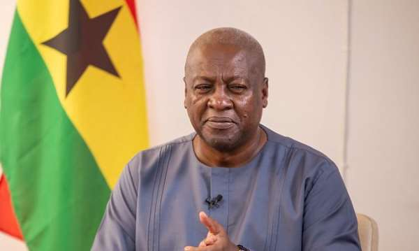 Ghanaians No Longer Surprised By Corruption Under Akufo-Addo, NPP---Mahama Jabs