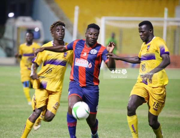Legon Cities: Checkout Asamoah Gyan's Crazy Debut Numbers Against Medeama SC