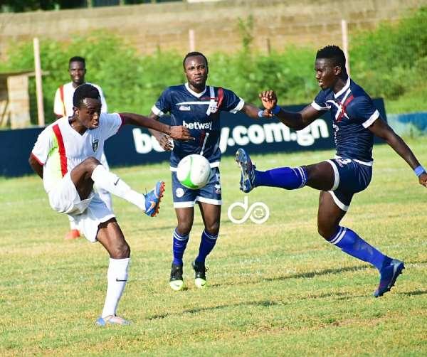 GPL Matchday 3: Eleven Wonders Share Spoils With Liberty Professionals