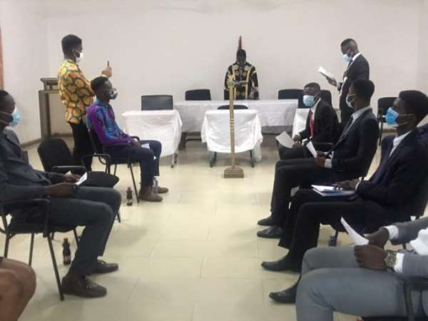 17th UG Students' Parliament Inaugurated