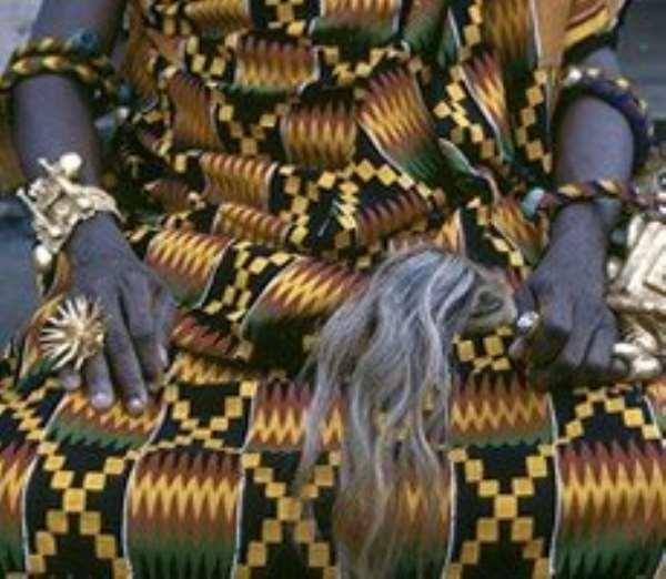 Barima Tweneboa Kodua I Speaks to Kumawuman from his Grave