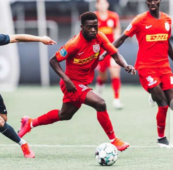 Kamal Deen Sulemana On Target As FC Nordsjaelland Defeat AGF 3-1