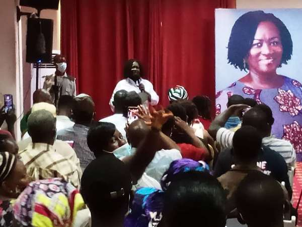 Prof Jane Naana Urges Youth To Vote For NDC