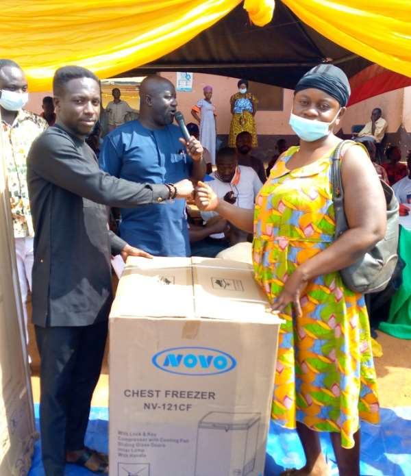 Asunafo South supports over 60 PWDs