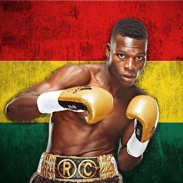 World Kickboxing Champion Nmai Hails Richard Commey