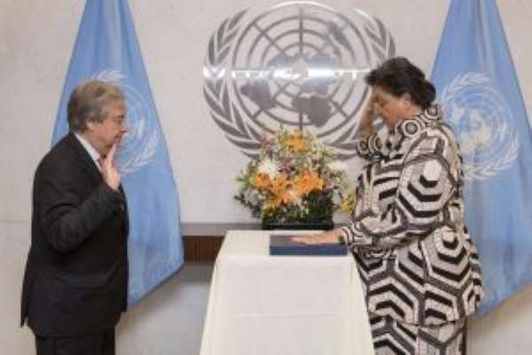Hannah Tetteh Takes Oath Of Office As Director General Of UN Nairobi