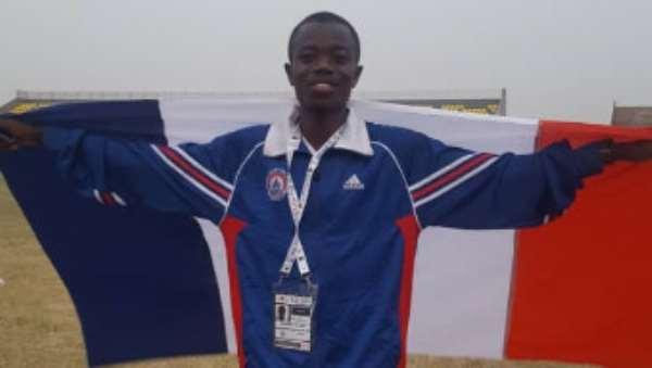 William Amponsah Of UEW Sets New Record Again In 10,000m At GUSA