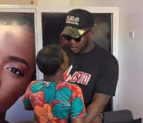 [Watch] Medikal Begs Fella Makafui After Break Up