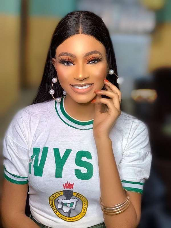 Ex Beauty Queen Completes NYSC, Urges IGP To Tackle Looting By Hoodlums
