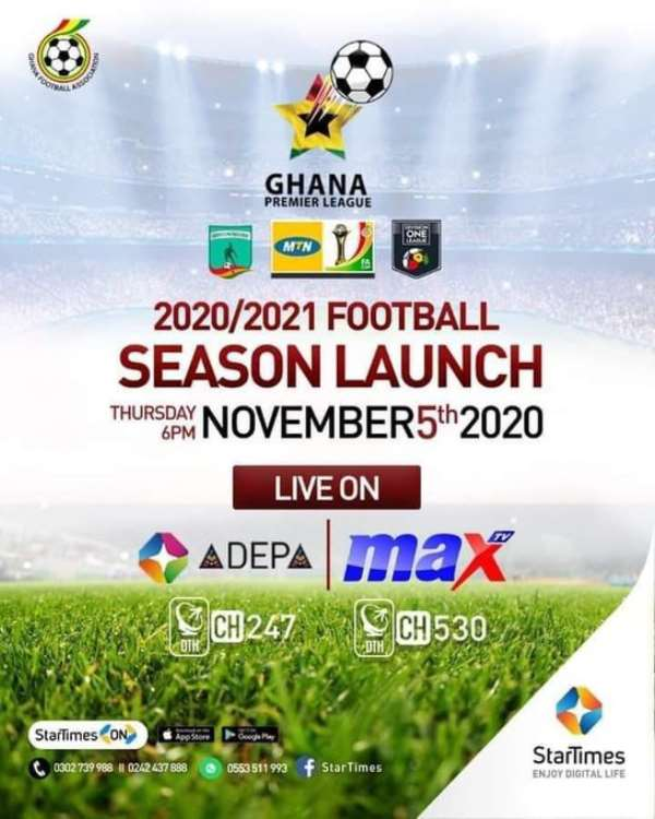 Ghana FA To Officially Launch 2020/2021 Season On November