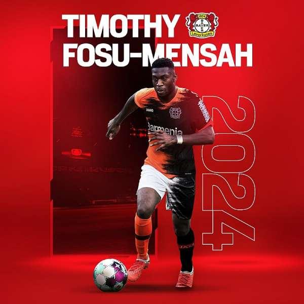 Man Utd defender Fosu-Mensah seals £1.5m move to Bayer Leverkusen