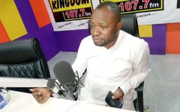 Collins Owusu Amankwah Hails Akufo-Addo For Fixing Deplorable Roads In His Constituency
