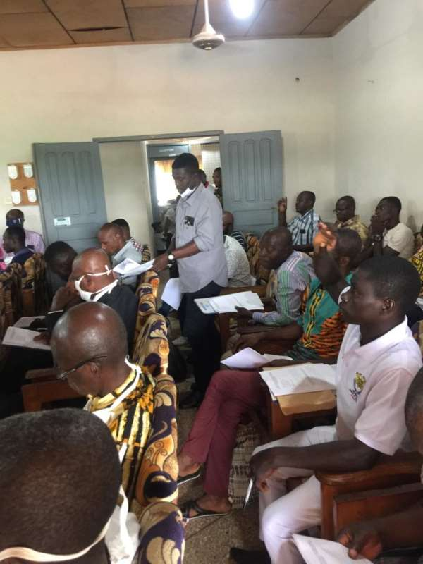 Dormaa East:DCE Appeals To Assembly Members To Support Revenue Mobilization