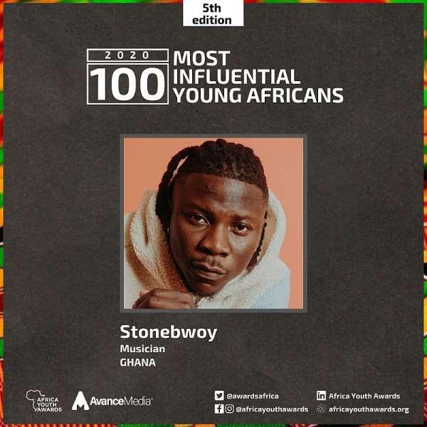 Stonebwoy, Kuami Eugene & Berla Mundi make 2020 100 Most Influential Young Africans List