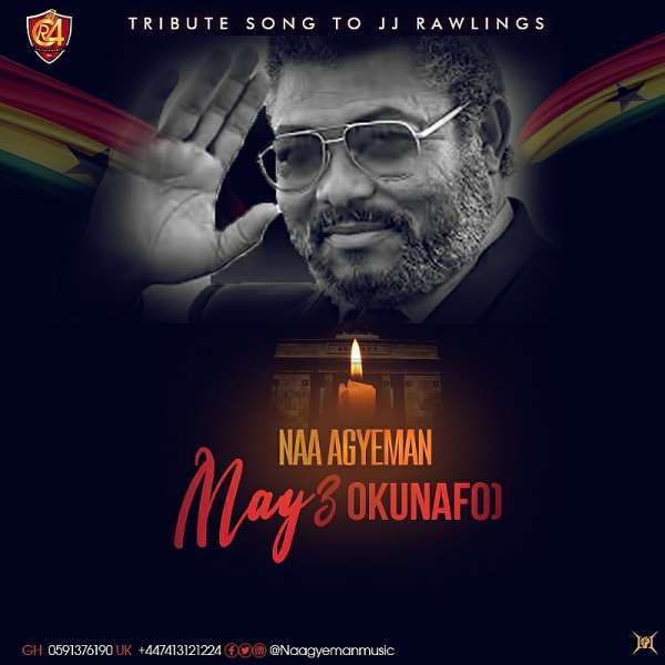Legendary Singer Naa Agyeman pays tribute to JJ Rawlings with a song
