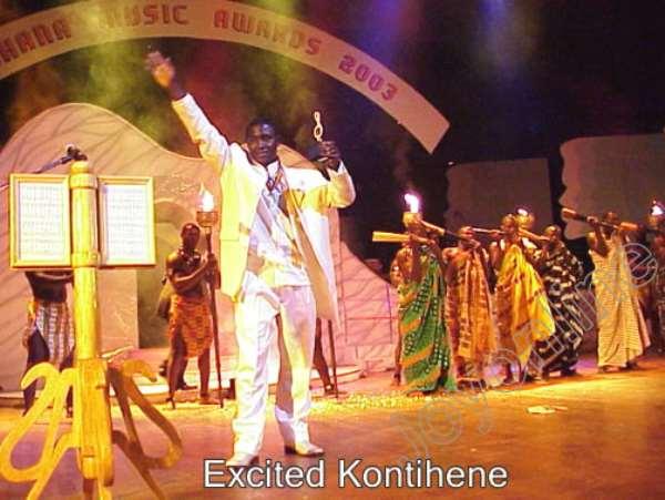 Kontihene wins song of the year award
