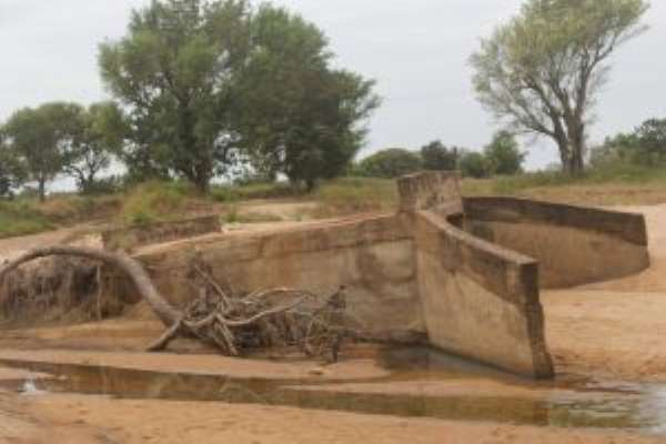 Residents Appeal For Help To Fix Collapsed Bridge