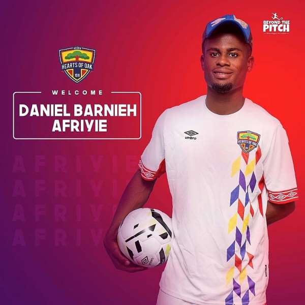 OFFICIAL: Hearts Of Oak Announce Capture Of Striker Daniel Barnieh