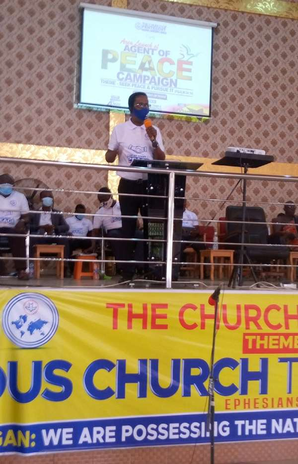 Election 2020: Swedru Area Church Of Pentecost Launches Agent Of Peace Campaign