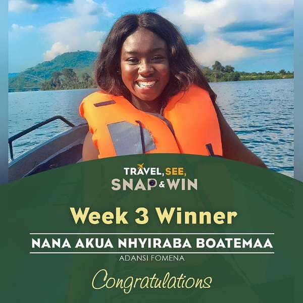 Ghana Tourism Authority Rewards 3 Winners of The Travel, See, Snap And Win Contest