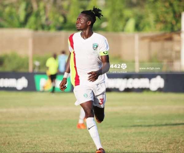 Techiman Eleven Wonders defender Rashid Mohammed