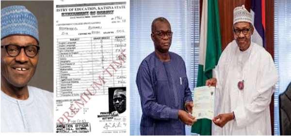 President Buhari's Certificate Saga