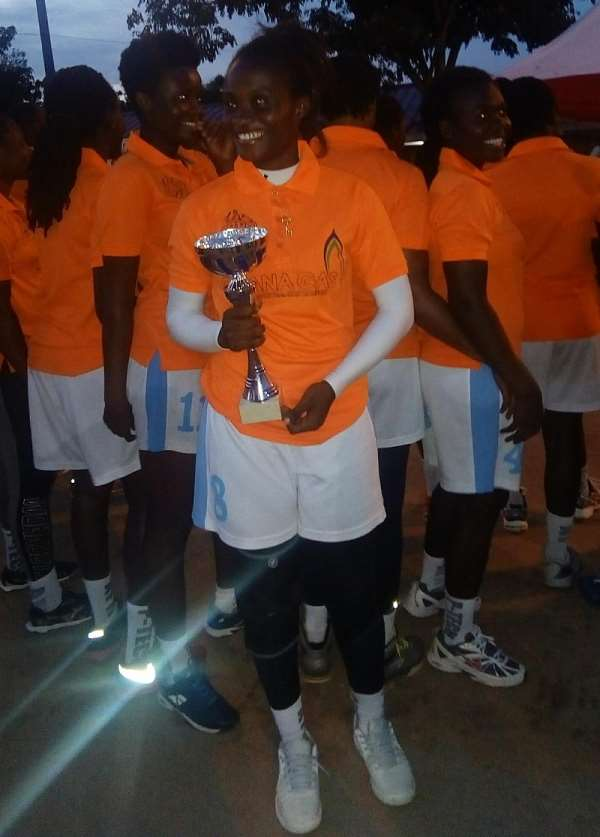 Air Force Pip GALA Champions Police To Lift Greater Accra Handball Knockout Trophy