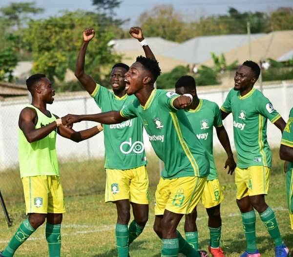 GHPL: Yahaya Mohammed scores for Aduana Stars in 2-1 win against Legon Cities FC