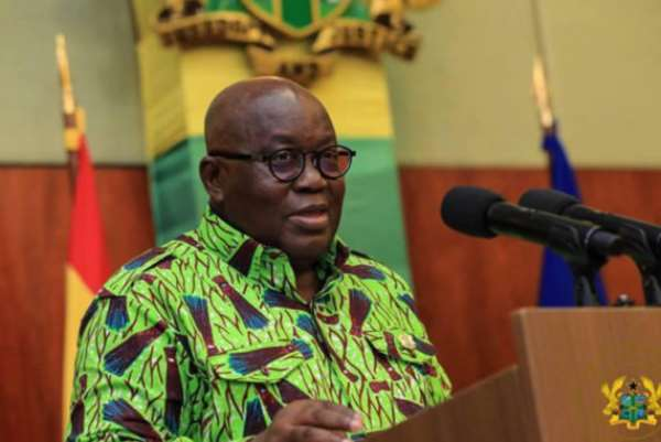 [Full text] Akufo-Addo's 19th Covid-19 Update To Ghanaians