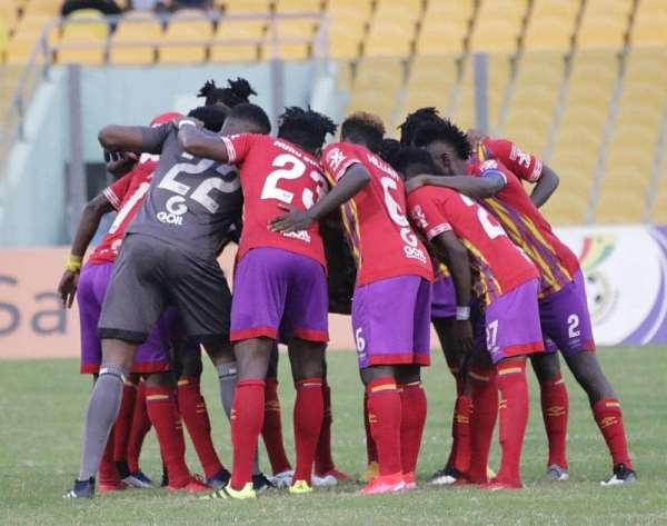 Wrap of matchday 9 of GHPL: Hearts return to winning ways, Karela hammer Chelsea as Kotoko snatch late point at WAFA