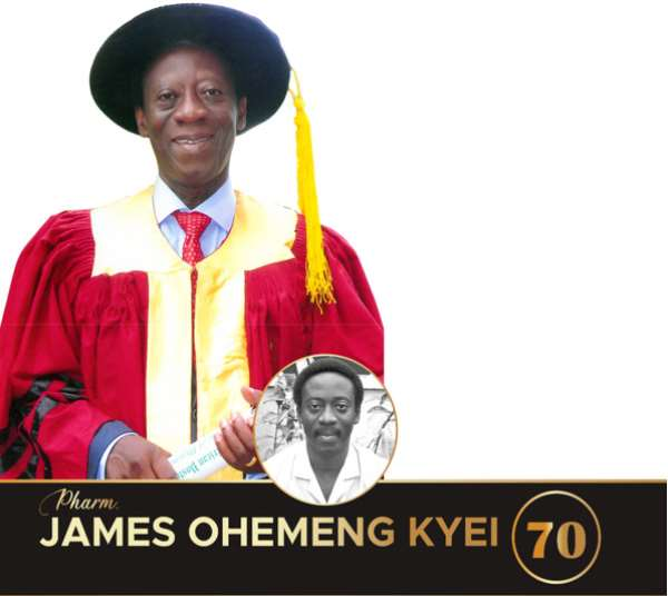 Tribute by the Pharmaceutical Society Of Ghana (PSGH) to the memory of Pharm. James Ohemeng Kyei Past PSGH President (2012-2015)
