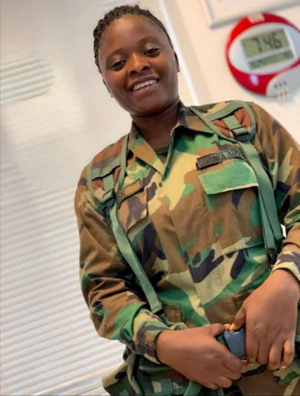 Final funeral rights for the late Rakiatu Sise a young Military Lady announced