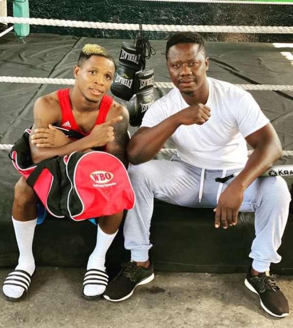 Duke Micah returns to the Carl Lokko's Bronx Gym