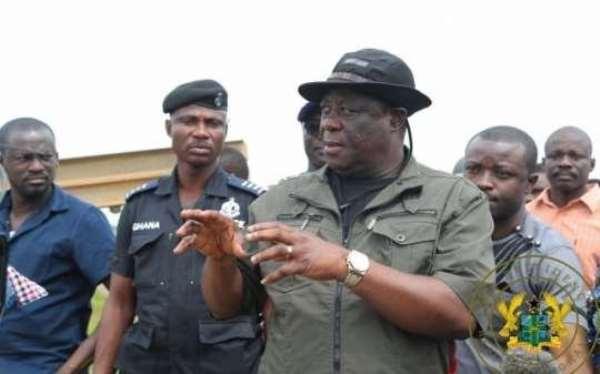Minister of Roads and Highways, Mr Kwasi Amoako-Atta