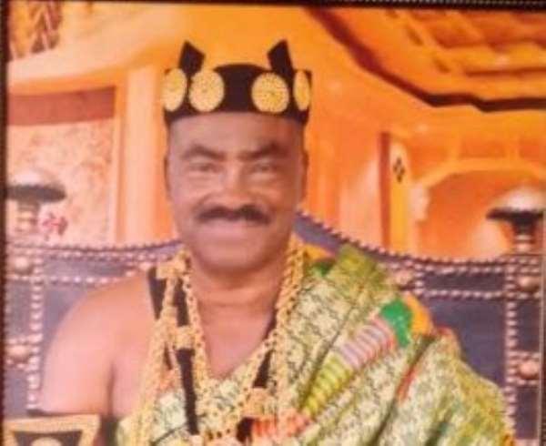 Deceased Paramount Chief of the Gbi Traditional Area, Togbega Gabusu VI