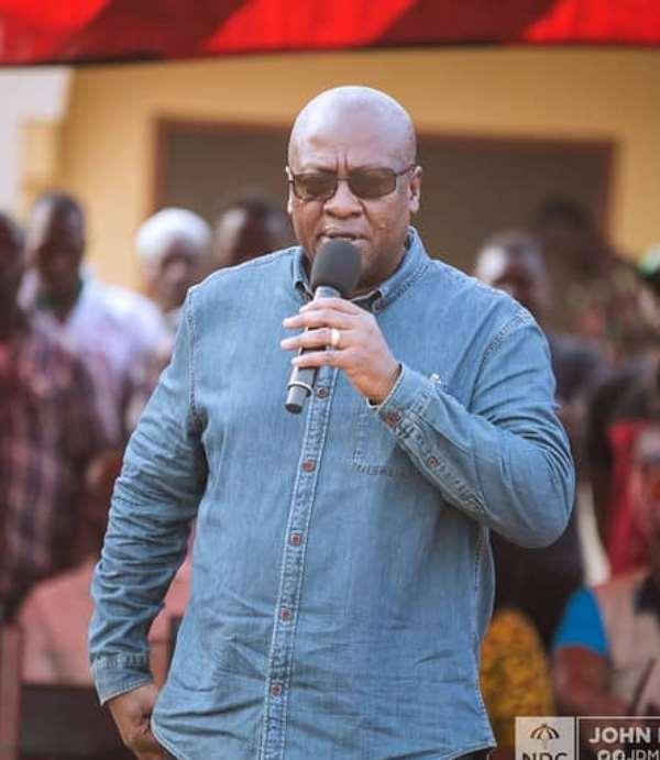 NDC Will Institute Cashew Board—Mahama Assure Farmers