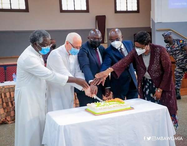 Bawumia marks five years of Christ The King Soup Kitchen
