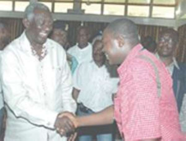 Wicked Lies - President Kufuor Says Rumours About His Stashed Billions Are Baseless