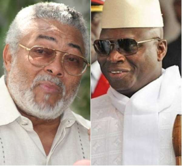 Rawlings must convince Jammeh to step down – Ambassador