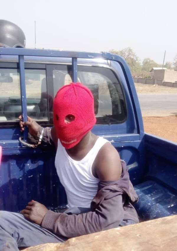 Man Arrested For Attempting To Rob Van On Bole-Bamboi Highway