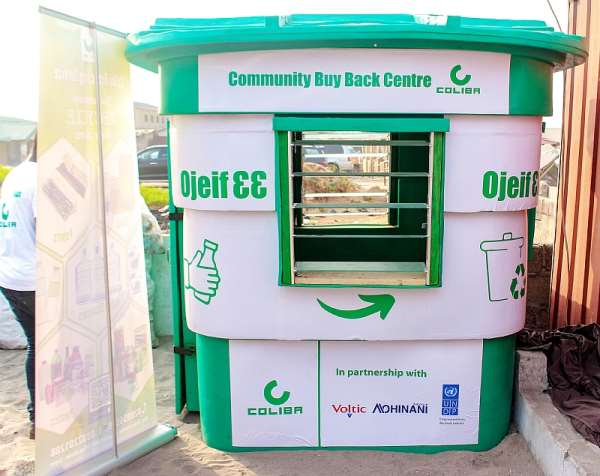 Plastic Waste Collection Community Buyback Centre Launched In Accra