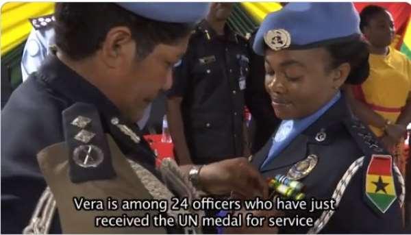 24 Ghanaian Peacekeepers Get UN Medal