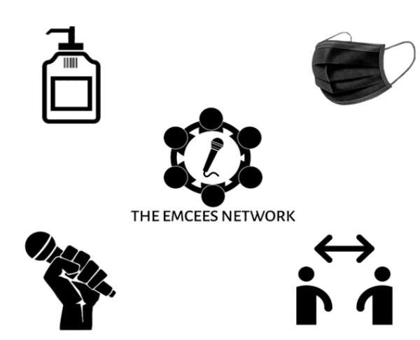 The Emcees Network pledges support in Ghana's fight against the spread of covid-19
