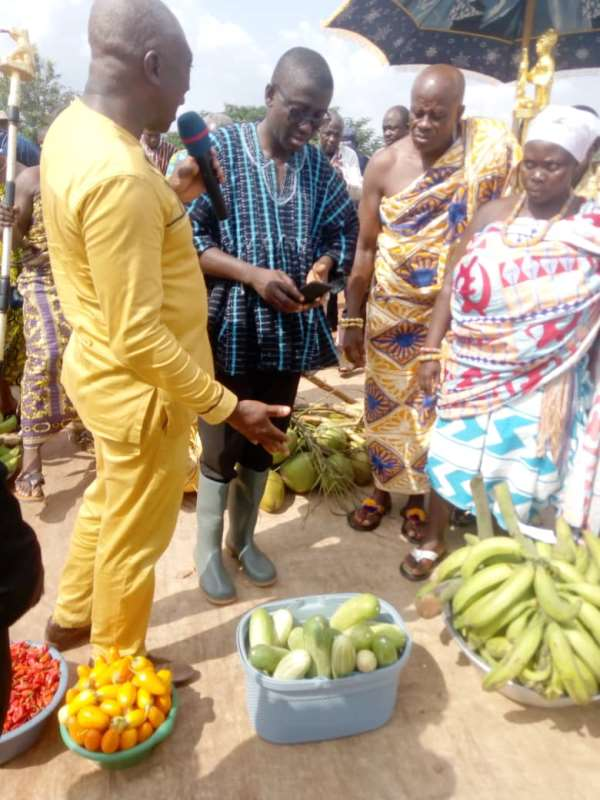 Govt's Interventions In Agric Sector Attracting Youth In Amansie South To Farming